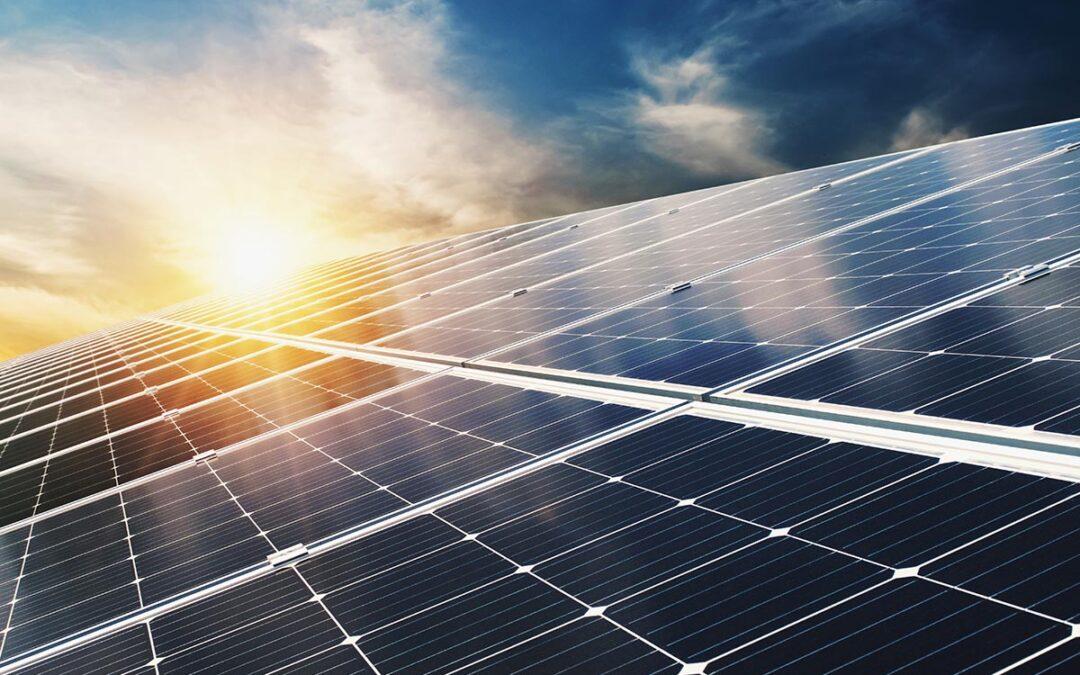 energia solar noche