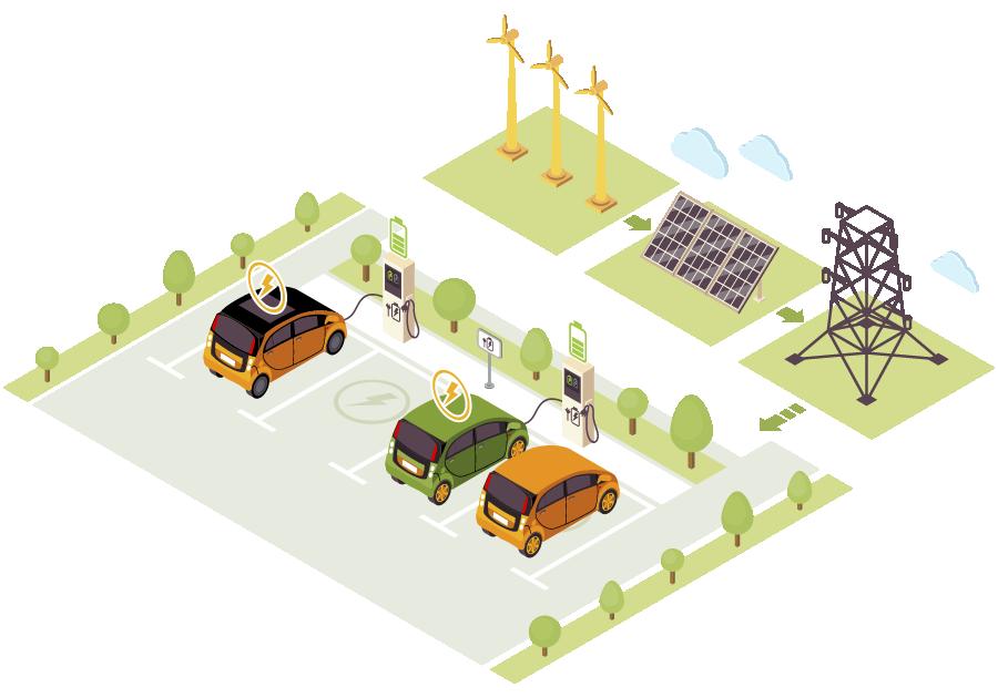 solar conectada a la red
