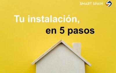 Smart Spain: Tu instalación solar en solo 5 pasos
