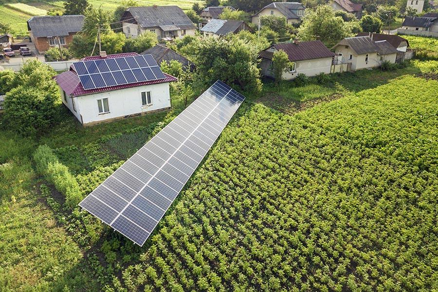 instalacion solar en zona rural