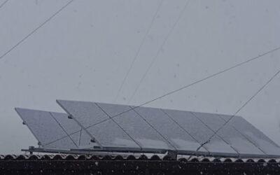 Cómo quitar la nieve de las placas solares
